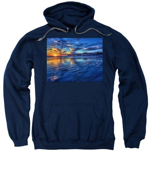 Sunset In Blue Sweatshirt