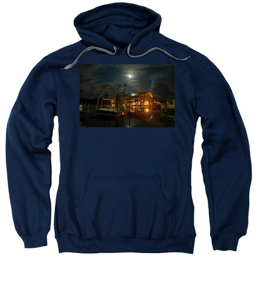 Super Moon At Nelsons Sweatshirt