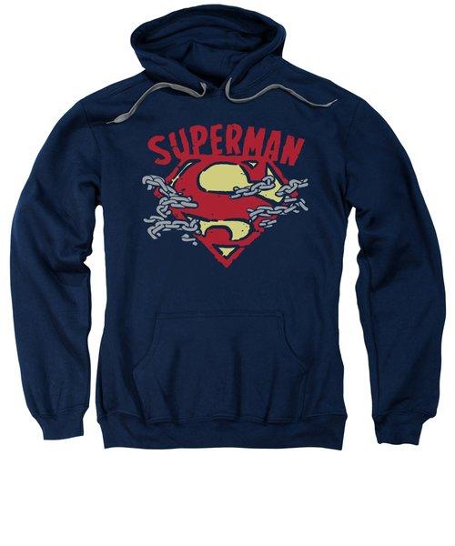 Superman - Chain Breaking Sweatshirt