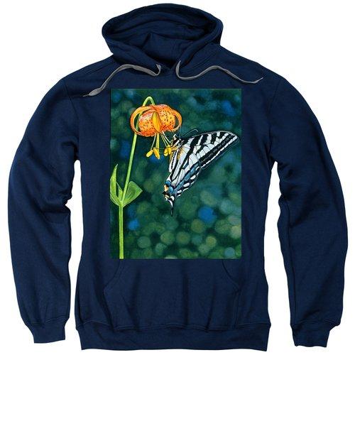 Swallowtail Splendor Sweatshirt