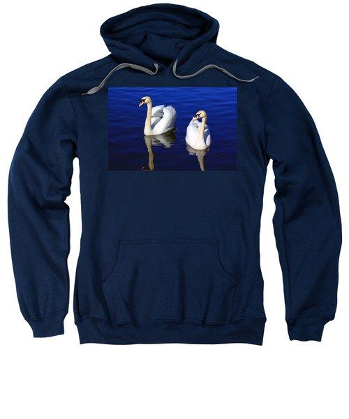Swans On The Lake Sweatshirt