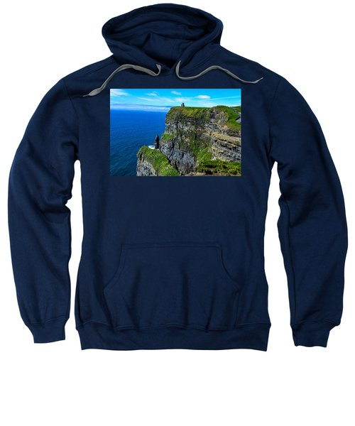 The Cliffs Of Moher And O'brien's Tower Sweatshirt