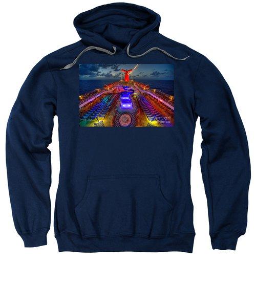 The Cruise Lights At Night Sweatshirt