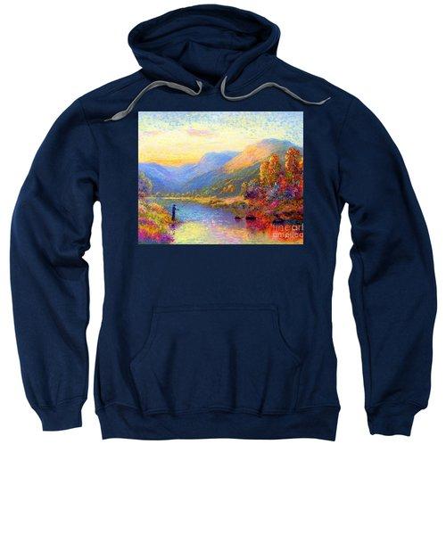 Fishing And Dreaming Sweatshirt