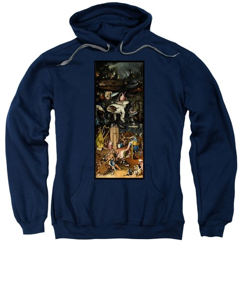 The Garden Of Earthly Delights. Right Panel Sweatshirt
