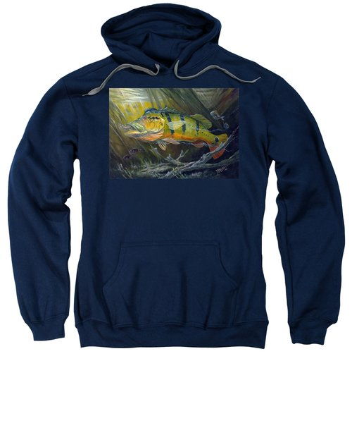 The Great Peacock Bass Sweatshirt