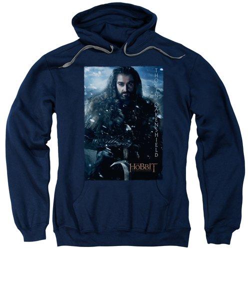 The Hobbit - Thorin Poster Sweatshirt