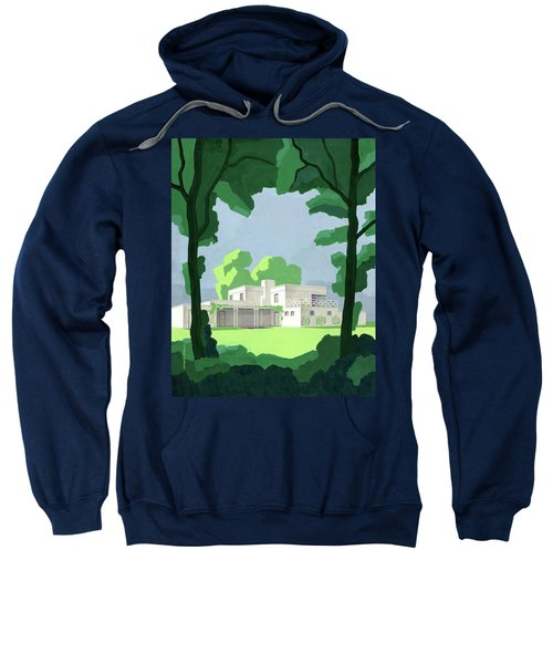 The Ideal House In House And Gardens Sweatshirt