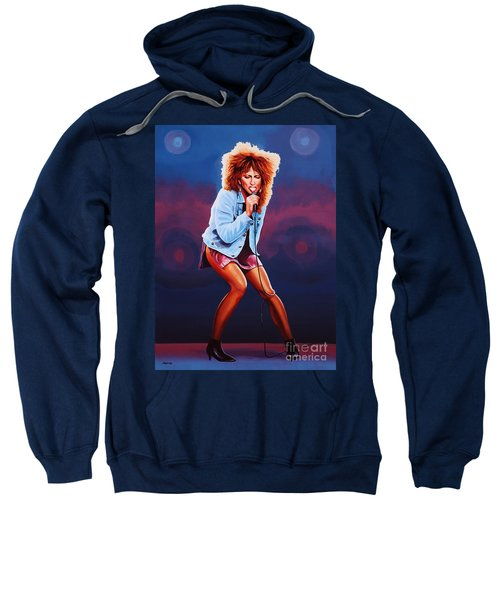 Tina Turner Sweatshirt by Paul Meijering