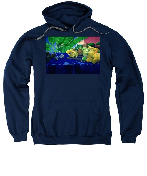 Tropical Fruit Sweatshirt by Lincoln Seligman