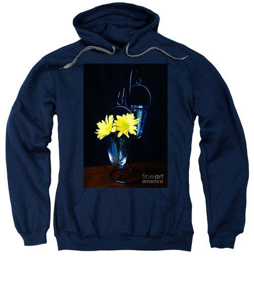 Two Yellow Daisies Sweatshirt