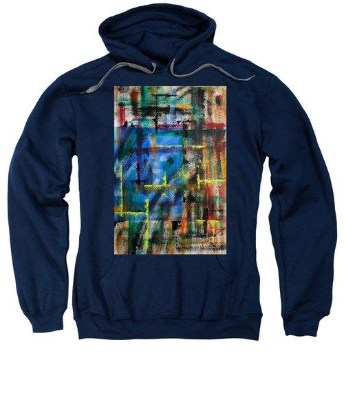 Blue Wall Sweatshirt