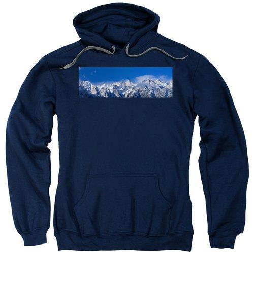 Usa, California, Mount Whitney Sweatshirt