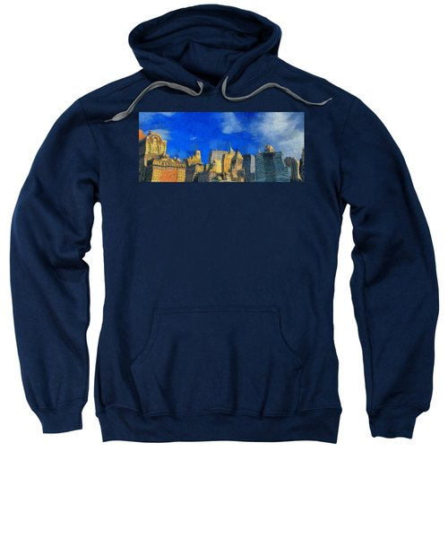 Van Gogh Meets Manhattan Sweatshirt