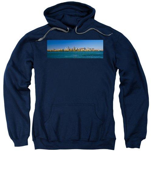 View Of Montreal Skyline And The Saint Sweatshirt