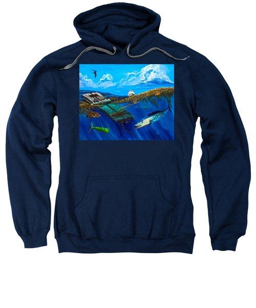 Wahoo Under Board Sweatshirt
