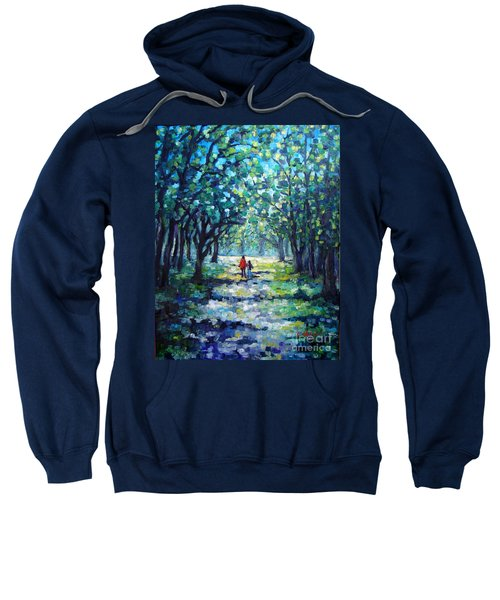 Walking In The Park Sweatshirt