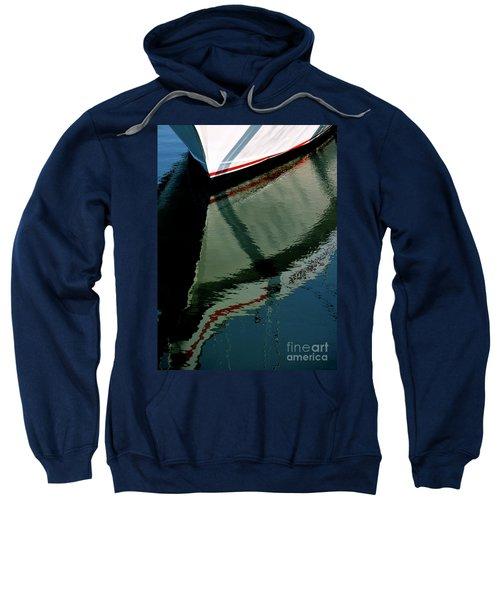 White Hull On The Water Sweatshirt