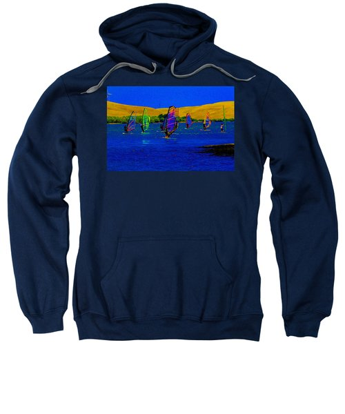 Wind Surf Lessons Sweatshirt