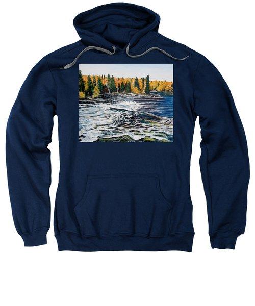Wood Falls 2 Sweatshirt