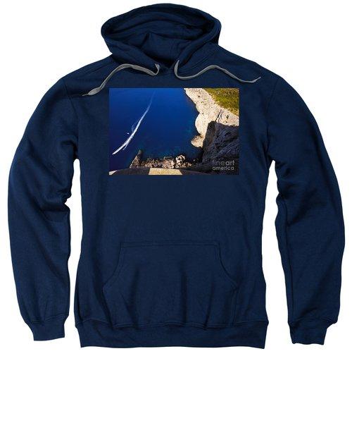 Boat In The Sea Sweatshirt