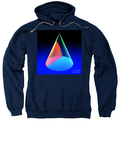 Conic Section Hyperbola 6 Sweatshirt
