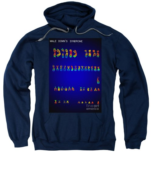 Downs Syndrome Karyotype Sweatshirt