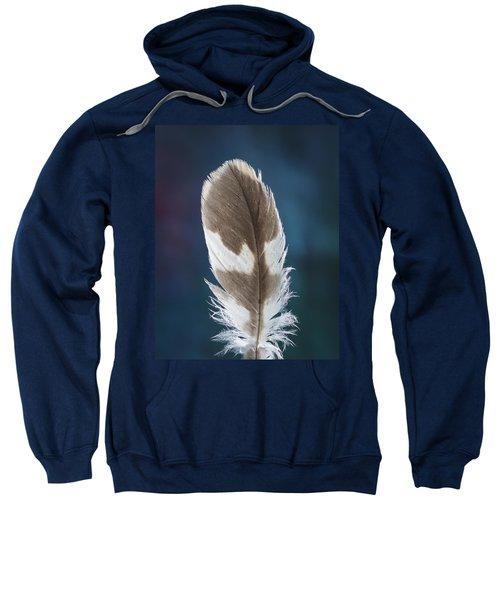 Feather Design Sweatshirt