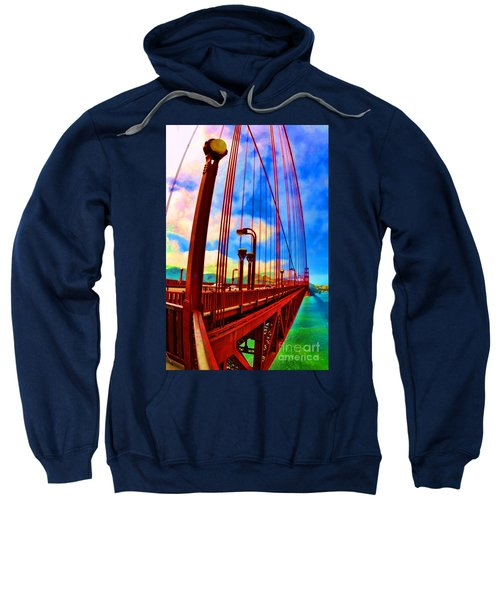 Golden Gate Bridge - 8 Sweatshirt