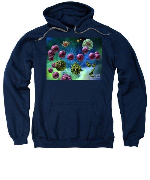Immune Response Cytotoxic 1 Sweatshirt