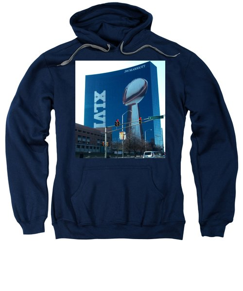 Indianapolis Marriott Trubute To Super Bowl 46 Sweatshirt