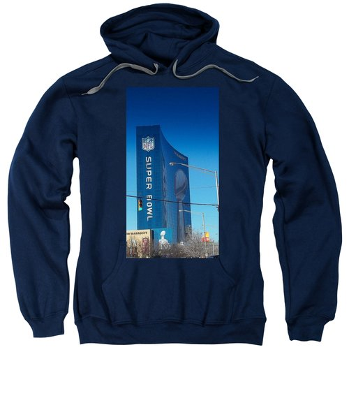 Indianapolis Marriott Welcomes Super Bowl 46 Sweatshirt