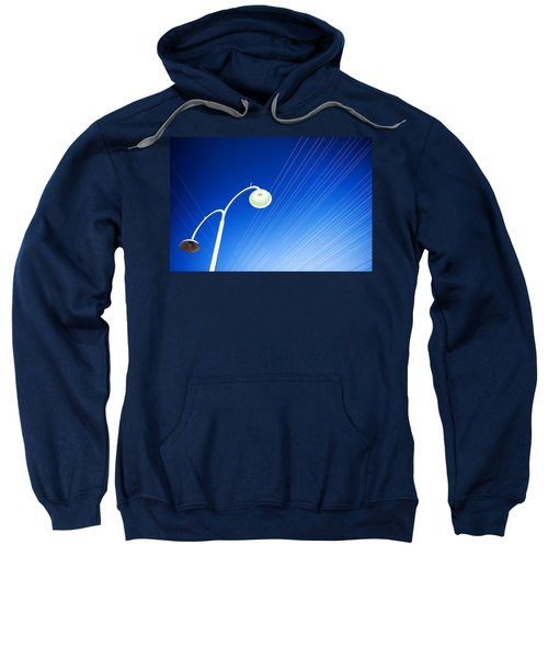 Lamp Post And Cables Sweatshirt
