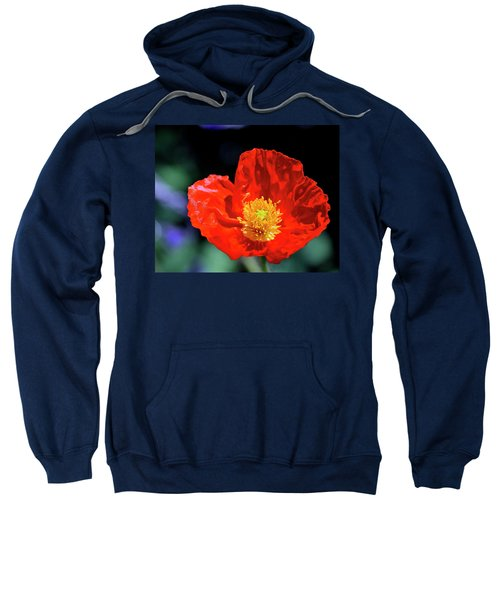 Orange Poppy Sweatshirt