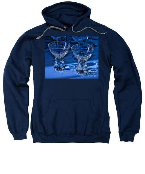Reflections In Blue Sweatshirt