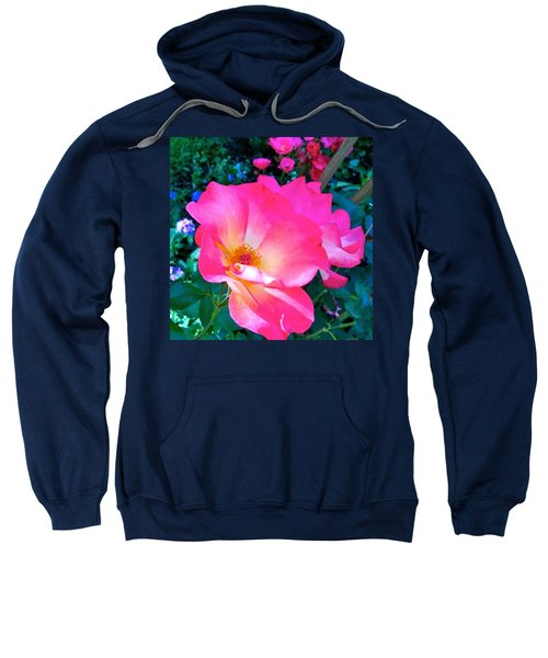 Roses From Anna's Gardens Sweatshirt