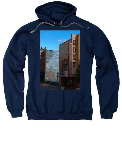 Roxy Theater And Mural Sweatshirt