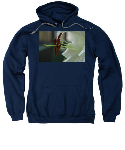 White Tiger Lily II Sweatshirt