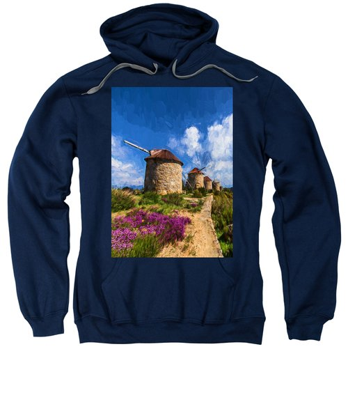 Windmills Of Portugal Sweatshirt
