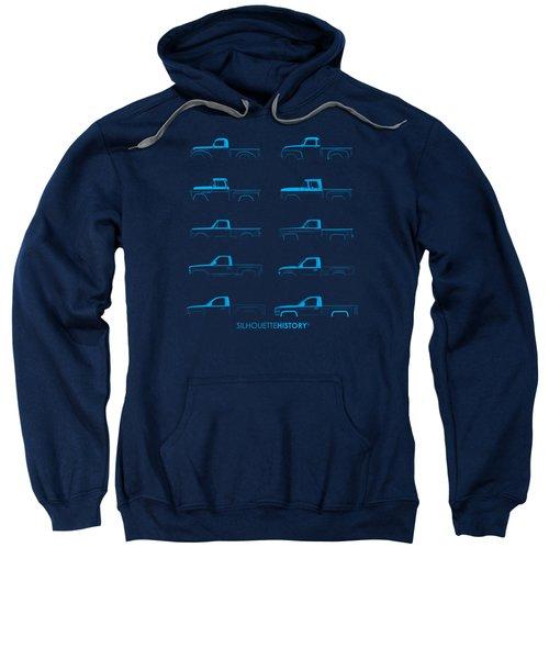 Fullsize Pickup Silhouettehistory Sweatshirt