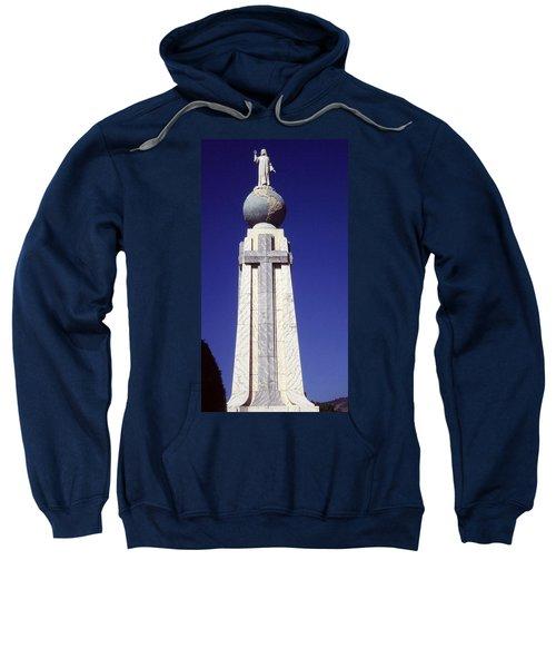 Monumento Al Divino Salvador Del Mundo Sweatshirt