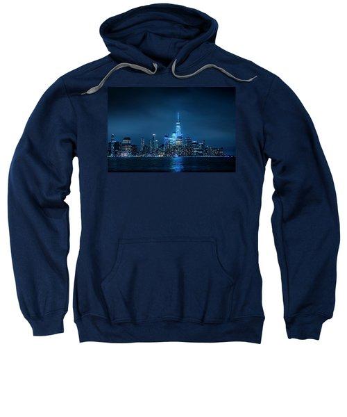 Skyline At Night Sweatshirt