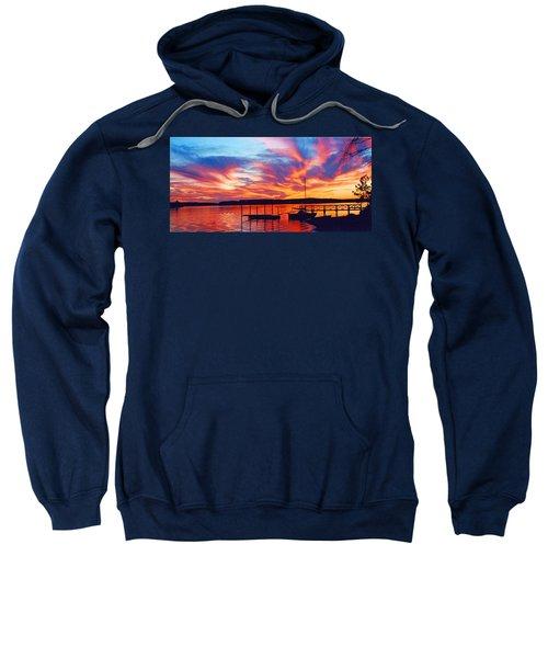 Sunset Over Lake Murray Sweatshirt