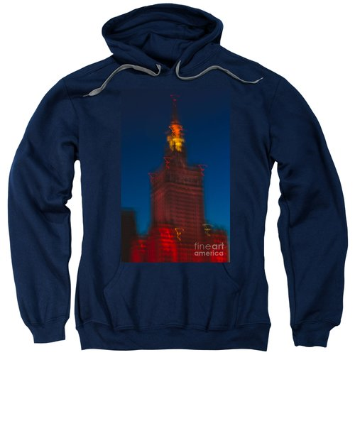 The Palace Of Culture And Science Sweatshirt