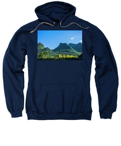 Countryside Scenery In Autumn Sweatshirt