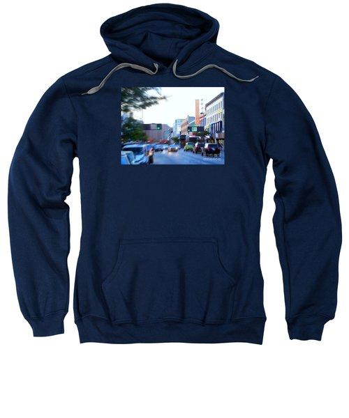 125th Street Harlem Nyc Sweatshirt by Ed Weidman