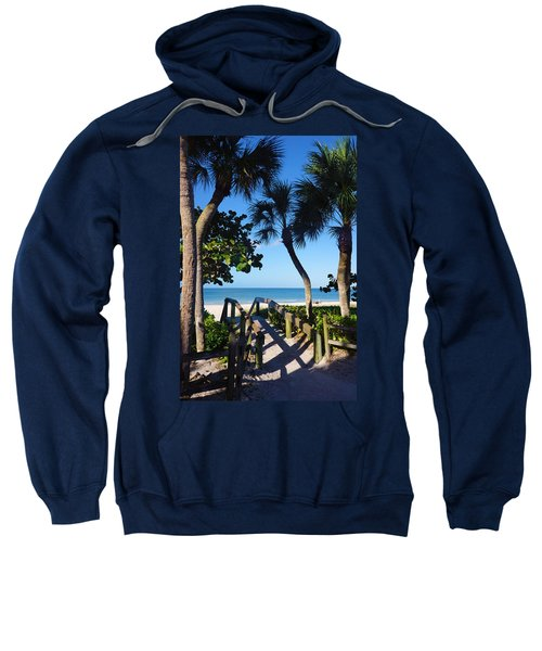 14th Ave S Beach Access Ramp - Naples Fl Sweatshirt