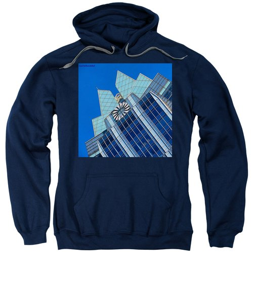 #beautiful #bluesky And The Frost Bank Sweatshirt