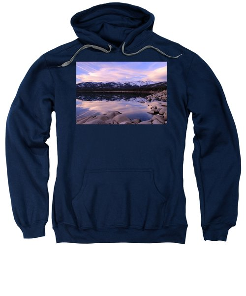 Lake Tahoe Rocks  Sweatshirt
