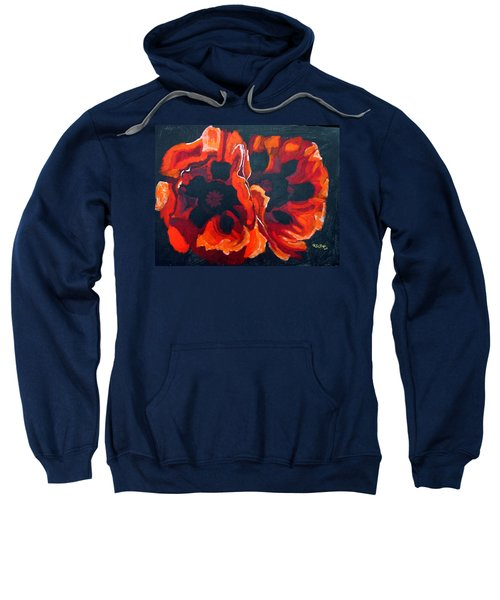 2 Poppies Sweatshirt